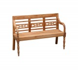 Tuinbank - Station - 130 x 45 x 75 cm - Naturel - Livingfurn