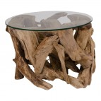 Grand Canyon Coffee Table - Coffee table met glas plate