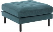 Kave Home - Hocker - Turquoise - 80 x 80 x 49 - Turquoise