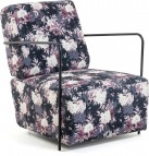 Fauteuil - Gamer - Multicolor - Velvet - Kave Home