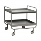 House Doctor - Trolley - Roll - l: 60 cm, w: 60 cm, h: 60 cm - Grijs