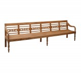 Tuinbank - Station - 300 x 60 x 70 cm - Naturel - Livingfurn