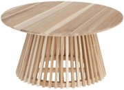 Kave Home - Salontafel - Jeanette - 80 x 80 x 40 - Natural