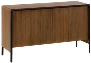 Kave Home - Dressoir Nadyria - Walnut - 140 x 45 x 82