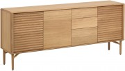 Dressoir - Lenon - 200 x 45 x 86H cm - Naturel - Kave Home